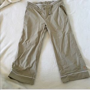 Lucy Tan Capri Workout Athletic Pants